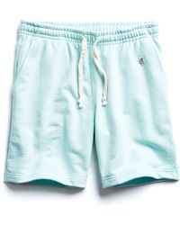Todd Snyder - Terry Warm Up Short In Surf Green - Lyst