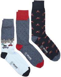 Corgi - Driving Home For Christmas Cotton 3 Sock Gift Box - Lyst