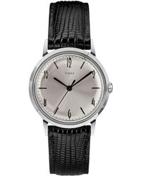 Timex - Marlin Watch In Black - Lyst