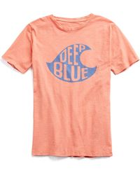 Hartford - Deep Blue Tee - Lyst
