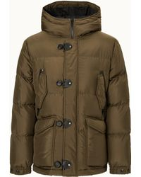 Tod's - Down Coat In High-tech Fabric - Lyst