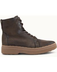 46fcd16d1f99 Billabong · Tod's - Ankle Boots In Split Leather - Lyst