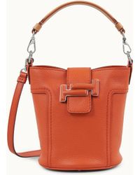 Tod's - Double T Bucket Bag Mini - Lyst