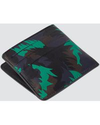 Tomas Maier - Camo Palm Card Case - Lyst