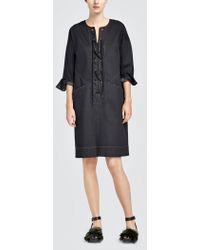 Tomas Maier - Comfort Denim Tunic Dress - Lyst