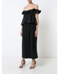 TOME - Off Shoulder Ruffle Top - Lyst