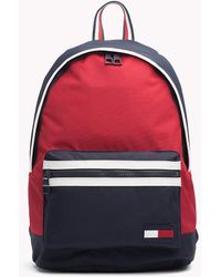 Tommy Hilfiger - Bold Colour-blocked Backpack - Lyst