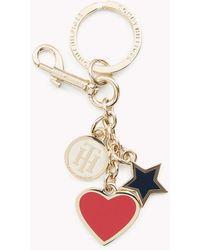 Tommy Hilfiger - Heart And Star Key Fob - Lyst