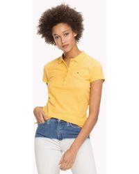 Tommy Hilfiger - Stripe Stretch Polo Shirt - Lyst