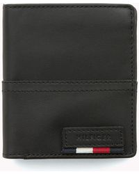 Tommy Hilfiger - Leather Trifold Wallet - Lyst
