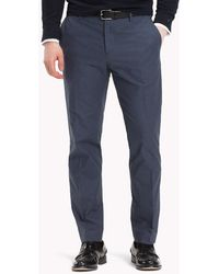 Tommy Hilfiger - Slim Fit Tapered Trousers - Lyst