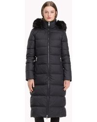 Tommy Hilfiger - Fitted Maxi Coat - Lyst