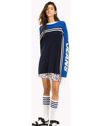 Tommy Hilfiger - Cotton Oversized Sweatshirt - Lyst