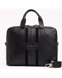 Tommy Hilfiger - Heritage Leather Computer Bag - Lyst