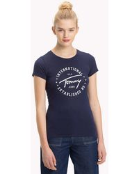 Tommy Hilfiger - Tommy Jeans Circle Logo Top - Lyst