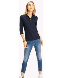 Tommy Hilfiger - Long Sleeved Polo Shirt - Lyst