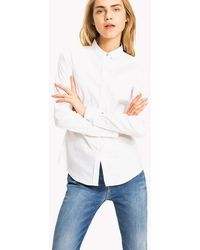 Tommy Hilfiger - Stretch Cotton Shirt - Lyst
