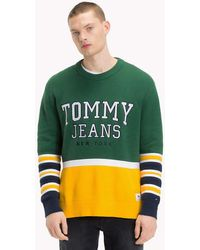 Tommy Hilfiger - Colour-block Relaxed Fit Jumper - Lyst