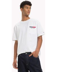 9145d970 Tommy Hilfiger Mountain Photo Print T-shirt in White for Men - Lyst
