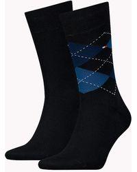 Tommy Hilfiger - 2 Pack Argyle Socks - Lyst