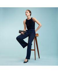 55ae4053d0a0 Tommy Hilfiger Viscose Striped Jumpsuit Gigi Hadid in Blue - Lyst