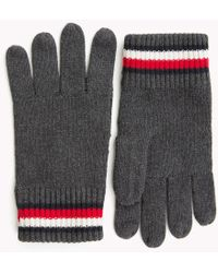 Tommy Hilfiger - Heritage Signature Wool Gloves - Lyst