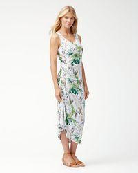 Tommy Bahama - Don't Leaf Me Now Islandzone® Midi Dress - Lyst
