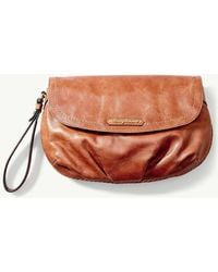 Tommy Bahama - Calero Leather Clutch - Lyst