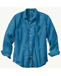 Tommy Bahama - Sea Glass Breezer Linen Shirt - Lyst