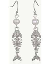 Tommy Bahama - Pearls Of Fish Earrings - Lyst