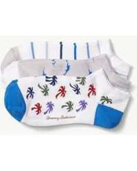Tommy Bahama - Non-terry All-over Print Socks - 3-pack - Lyst