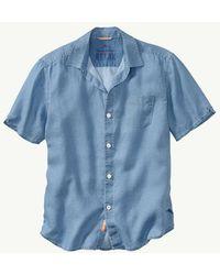Tommy Bahama - Sea Glass Breezer Linen Camp Shirt - Lyst
