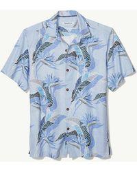 6fb5a584 Lyst - Tommy Bahama Big & Tall Marino Paradise Camp Shirt in Blue ...