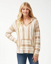 Tommy Bahama - Serena Stripe Baja Hoodie Sweater - Lyst