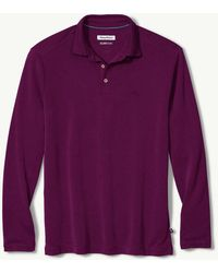 Tommy Bahama - Big & Tall Long-sleeve Coastal Crest Islandzone® Polo - Lyst