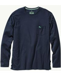 Tommy Bahama - 'Bali Skyline' Long Sleeve Pima Cotton T-Shirt - Lyst