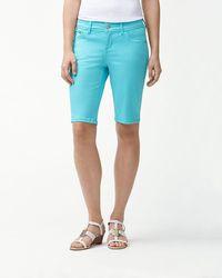 Tommy Bahama - Afton Denim 11-inch Bermuda Shorts - Lyst