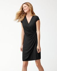 Tommy Bahama - Tambour Side-gathered Dress - Lyst
