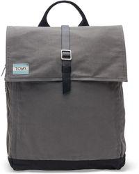 TOMS - Castlerock Utility Canvas Trekker Backpack - Lyst