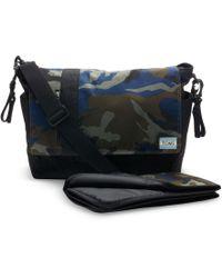 TOMS - Olive Camo Herringbone Baby Bag Messenger - Lyst