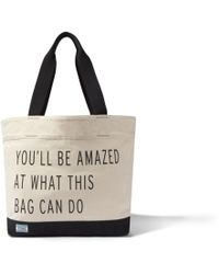 TOMS - Natural You'll Be Amazed Transport Tote - Lyst