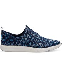 TOMS   Peacock Colorful Women's Del Rey Trainers   Lyst