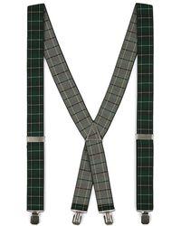 TOPMAN - Black Watch Suspenders - Lyst