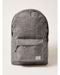 TOPMAN - Classic Grey Melange Backpack - Lyst