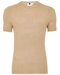 TOPMAN - Tone Muscle Ribbed Jumper - Lyst