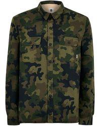 TOPMAN - Element 'kingsley' Oversized Long Sleeve Shirt - Lyst