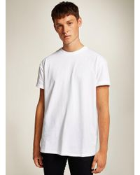 d99ce8d5 TOPMAN White Oversized T-shirt in White for Men - Lyst