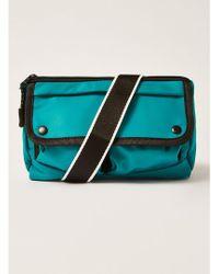 TOPMAN - Teal Cross Body Bag - Lyst