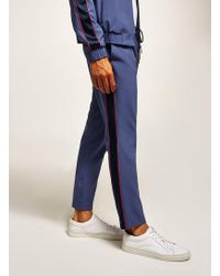 TOPMAN - Blue Smart Jogger - Lyst