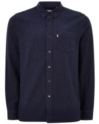 TOPMAN - Levi's Blue 'sunset' Pocket Shirt - Lyst